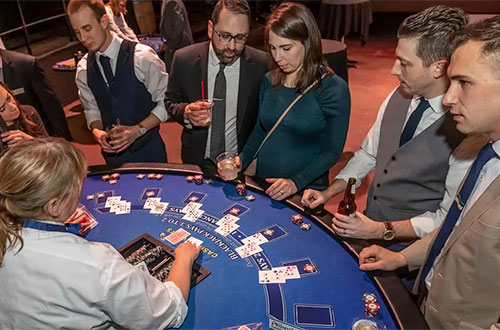 Luminus Team at 2020 ADDYs Black Jack Table