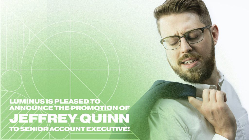 Jeffrey Quinn - Sr. Account Executive Promotion